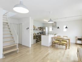 ミニマムに暮らす白い家